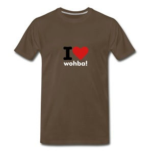 I heart wohba! - Men's Premium T-Shirt