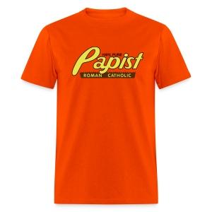100% Pure Papist Roman Catholic - Men's T-Shirt