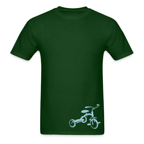 Lonely - Green/Blue - Men's T-Shirt