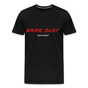 Game Over Tee (White) - Men's Premium T-Shirt