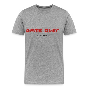 Game Over Tee (Ash) - Men's Premium T-Shirt