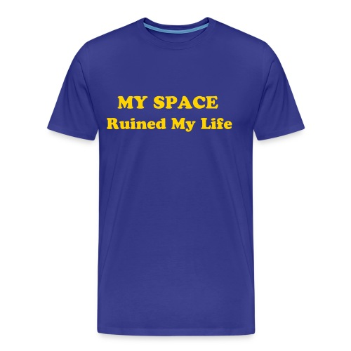 my space rocks - Men's Premium T-Shirt
