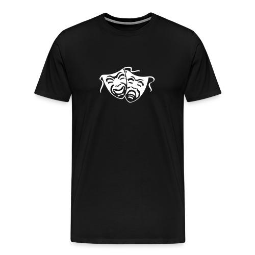 comedy/tragety - Men's Premium T-Shirt