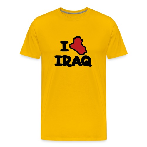 I ? Iraq - Men's Premium T-Shirt