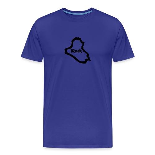 iRock - Blue T-shirt - Men's Premium T-Shirt