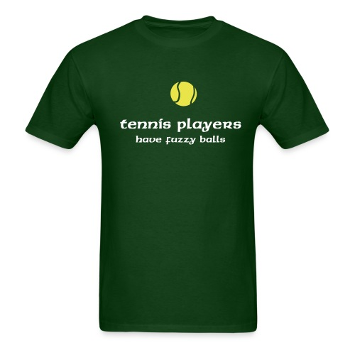 fuzzy tennis balls - Men's T-Shirt