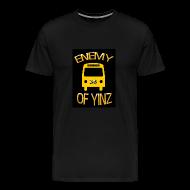 T-Shirts ~ Men's Premium T-Shirt ~ Bus, Enemy of Yinz