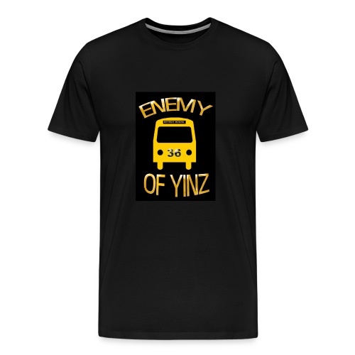 Bus, Enemy of Yinz - Men's Premium T-Shirt
