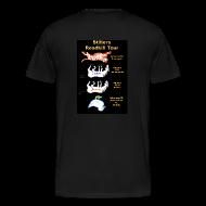 T-Shirts ~ Men's Premium T-Shirt ~ Bus logo , Roadkill on back