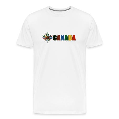 Canada Tartan - Men's Premium T-Shirt