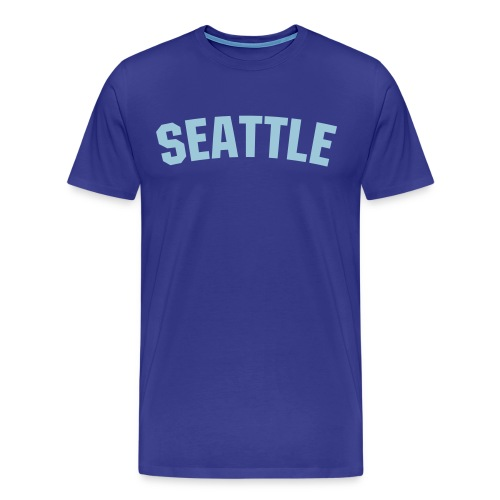 SEATTLE - Men's Premium T-Shirt