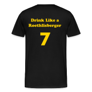 T-Shirts ~ Men's Premium T-Shirt ~ Drink Like a Champion, Drink Like Ben!