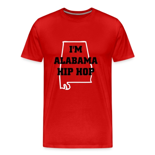 I'm Alabama Hip Hop Tee - Men's Premium T-Shirt