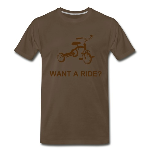 WANT A RIDE - Men's Premium T-Shirt