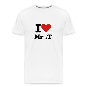 I Love Mr. T - Men's Premium T-Shirt