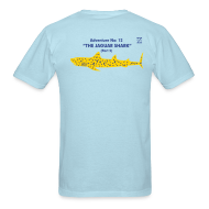 T-Shirts ~ Men's T-Shirt ~ Adventure no. 12 The Jaguar Shark (Part 2)