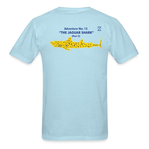 Adventure no. 12 The Jaguar Shark (Part 2) - Men's T-Shirt