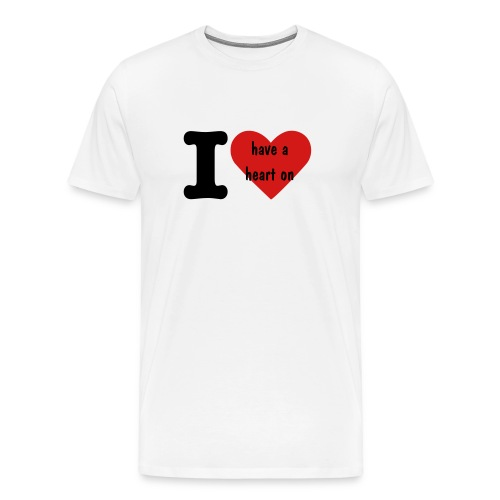 I have a heart on for KMFA - Men's Premium T-Shirt