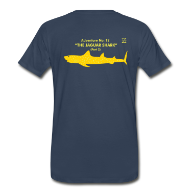 Navy jaguar shark T-Shirts