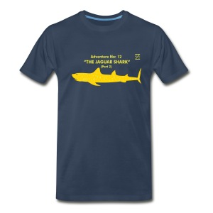 Adventure no. 12 The Jaguar Shark (Part 2) - Men's Premium T-Shirt