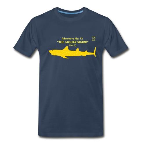 Adventure no. 12 The Jaguar Shark (Part 2) - Men's Premium T-Shirt
