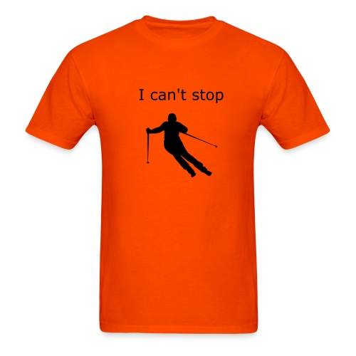 Skiing is Fun - Men's T-Shirt