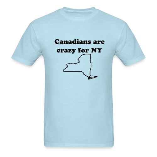 Canadians love NY - Men's T-Shirt