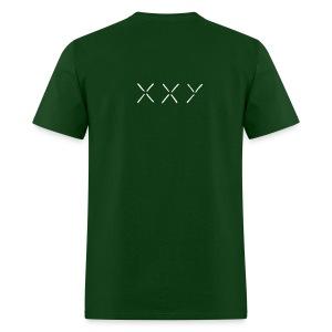 XXY Heavyweight cotton T-Shirt Green - Men's T-Shirt