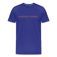 T-Shirts ~ Men's Premium T-Shirt ~ emotionally available