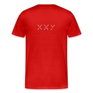 XXY Heavyweight cotton T-Shirt Red - Men's Premium T-Shirt
