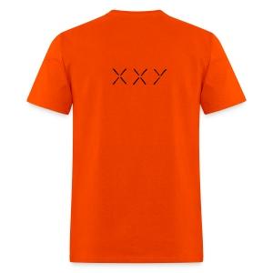 XXY Heavyweight cotton T-Shirt Orange - Men's T-Shirt