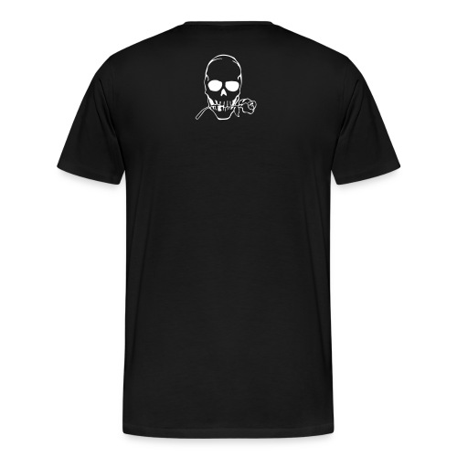 Established Skull w/rose - Men's Premium T-Shirt
