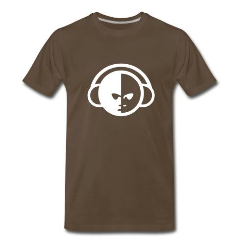 DJ (Chocolate Men's Tee) - Men's Premium T-Shirt