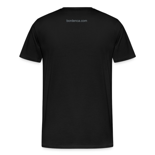 starving artist black t shirt - Men's Premium T-Shirt