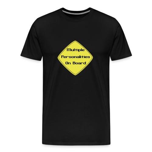multiple personalitys - Men's Premium T-Shirt