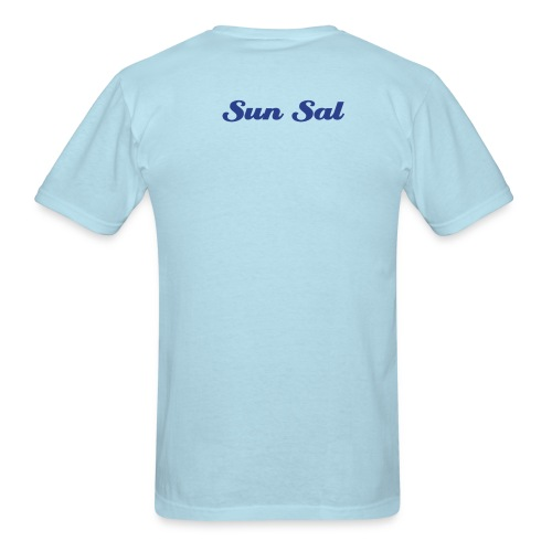 stay human blue - Men's T-Shirt