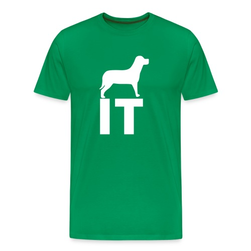 Dog On It T-Shirt - Men's Premium T-Shirt