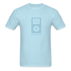 iCan'tHearYou (light blue) - Men's T-Shirt