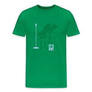 Dane logo It's on! SS Green - Men's Premium T-Shirt