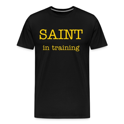 SAINT in training - Men's Premium T-Shirt