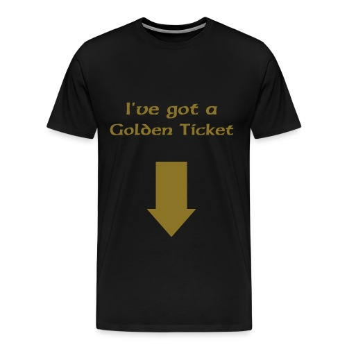 golden ticket - Men's Premium T-Shirt