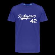 T-Shirts ~ Men's Premium T-Shirt ~ Men's Babyarm Royal Blue