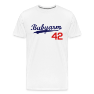 T-Shirts ~ Men's Premium T-Shirt ~ Men's Babyarm Dodger