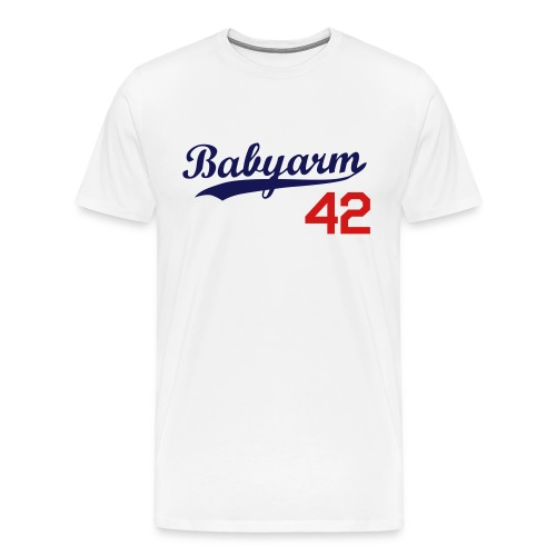 Men's Babyarm Dodger - Men's Premium T-Shirt