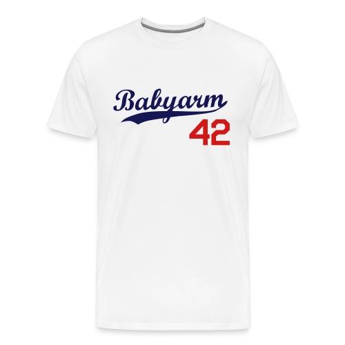 Men's Babyarm Dodger - Men's Premium T-Shirt