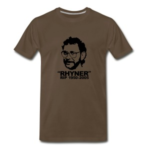 Men's RIP Rhyner Brown - Men's Premium T-Shirt