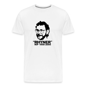 Men's RIP Rhyner White - Men's Premium T-Shirt