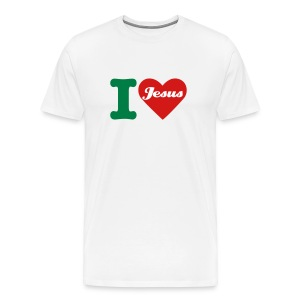 I love Jesus - Men's Premium T-Shirt