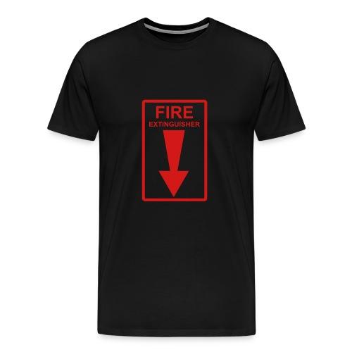 Fire T-shirt - Men's Premium T-Shirt