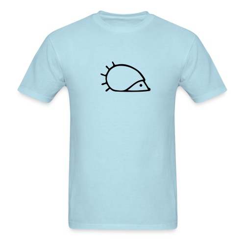 Men's T-Shirt - Hedgehog logo hérisson